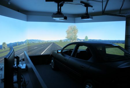 driving simulator at the Smart House