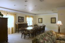 View of main dining room in the Smart House