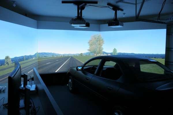 RTI driving simulator