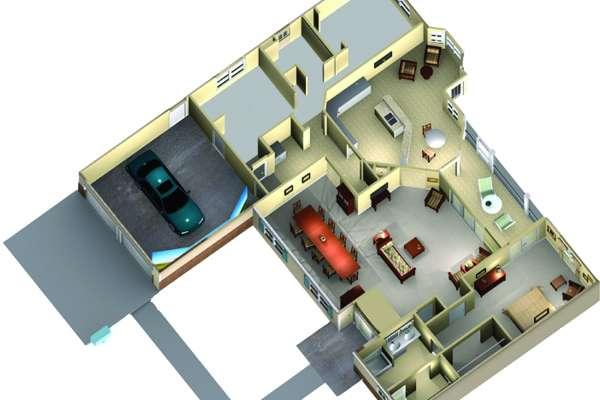 Smart House floor plan