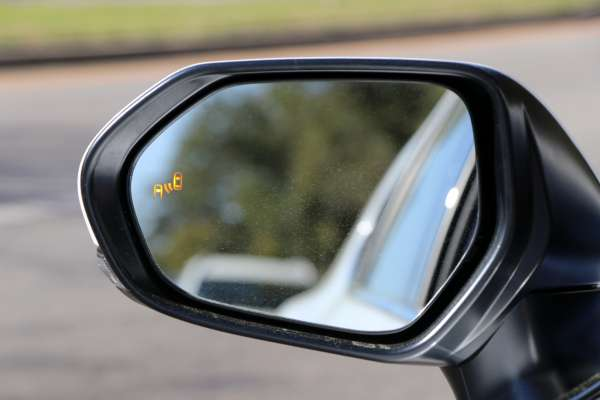 Camry Blind Spot Monitor activated by overtaking traffic