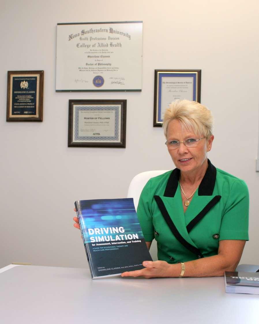 Dr. Sherrilene Classen Driving Simulation book released.